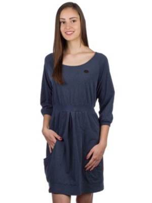 Naketano Schnuckis Muckis Dress dark night melange Naiset