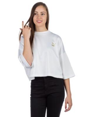 Puma Retro T-Shirt puma white Naiset