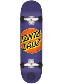 "Santa Cruz Classic Dot 7.8"""" Complete purple"