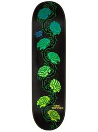 "Santa Cruz Dressen Rose Vine 8.25"""" Skate Deck black"