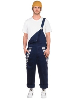 adidas Skateboarding Chino Bib Pants collegiate navy / white Miehet