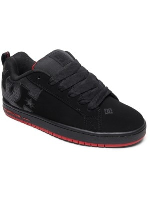DC Court Graffik SE Sneakers black / red / black Miehet