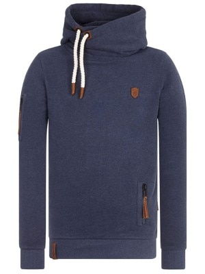 Naketano Pimp Hoodie dark night melange Miehet