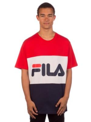 Fila Day T-Shirt black iris / bright white / t Miehet