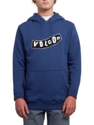Volcom Supply Stone Hoodie matured blue Miehet