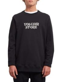 Volcom Supply Stone Crew Sweater new black Miehet