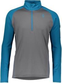 Scott Pullover Defined Light Tech Tee LS mykonos blue / iron grey Miehet