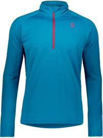 Scott Pullover Defined Light Tech Tee LS mykonos blue Miehet