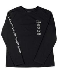 Quiksilver Bone Party T-Shirt LS Boys black Jätkät