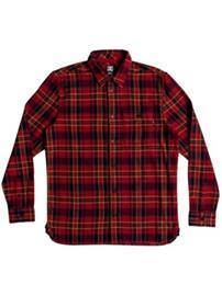 DC Marsha Shirt LS Boys tango red Jätkät