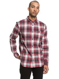DC Northboat Shirt LS tango red Miehet