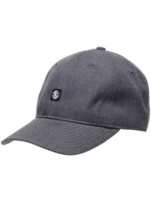 Element Fluky Dad Cap charcoal heather Miehet