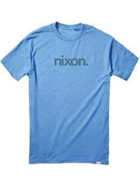 Nixon Locase T-Shirt royal heather Miehet