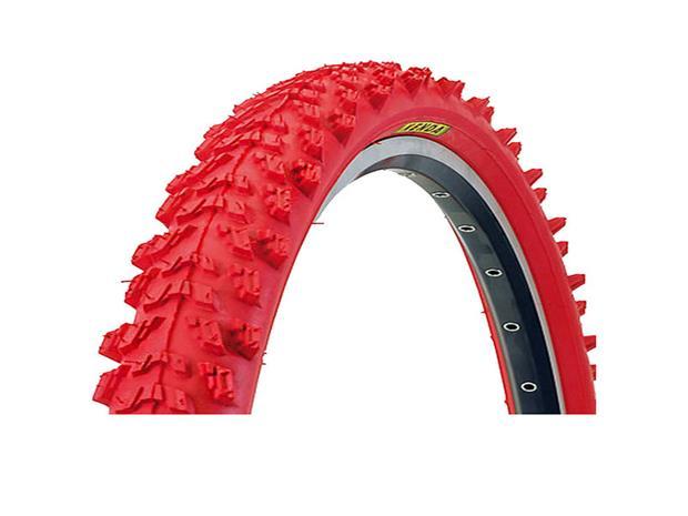 """Kenda K-829 Polkupyöränrenkaat 26 x 1,95"""""""" vaijeri , punainen"""