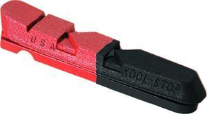 Kool Stop Dura Type Dual Compound Jarrupalat , punainen/musta