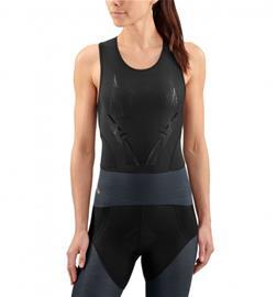 Skins DNAmic Triathlon Naiset Hihaton jouksupaita , harmaa/musta