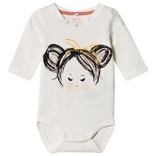 Juna Baby body Snow White68 cm