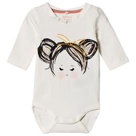 Juna Baby body Snow White68 cm