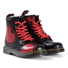 Black Valentine´s Hearts Delaney Boots28.5 (UK 10.5)