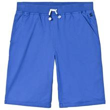 Drawstring Waist Woven Shorts Blue3 years