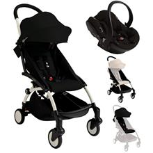 YOYO+ Stroller Black + Carseat Package