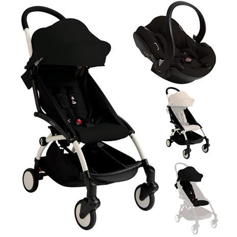 YOYO+ Stroller Black + Carseat Package