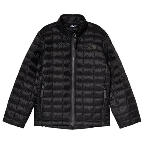 Black Thermoball Padded JacketS (7-8 years)
