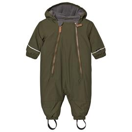 Timo winter baby suit Mossgreen68 cm