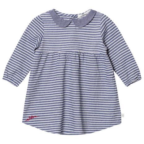 Alva Mekko Denim Blue Stripe74 cm