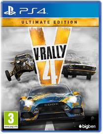 V-Rally 4 Ultimate Edition, PS4 -peli