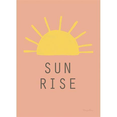 Sun Rise A4 Juliste