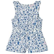 Frill Jumpsuit Blue Ditsy Floral4 years
