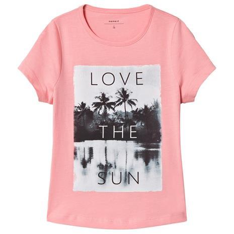 Kamingo T-paita Vaaleanpunainen116 cm