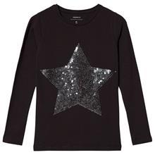 Pastar Pitkähihainen T-paita Musta116 cm