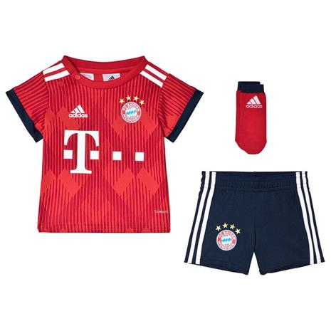 Bayern Mä¼nchen ´18 Hjemmesett Spedbarn3-6 months (68 cm)
