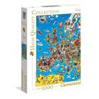 Clementoni, Euroopan kartta, Palapelit (1000)