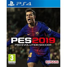 Pro Evolution Soccer 2019, PS4-peli
