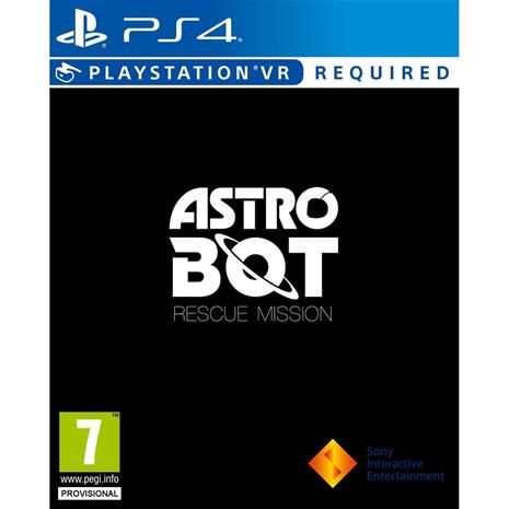 Astro Bot Rescue Mission, PS4 VR -peli