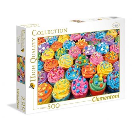 Clementoni, Colorful Cupcakes, Palapelit (500)