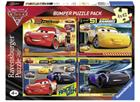Cars 3 4x42pcs Puzzle Bumper Pack