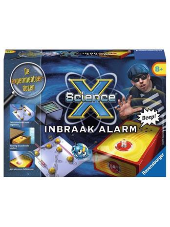 ScienceX Burglar Alarm, lautapeli