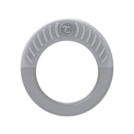 Teether 1+m Pastel Grey