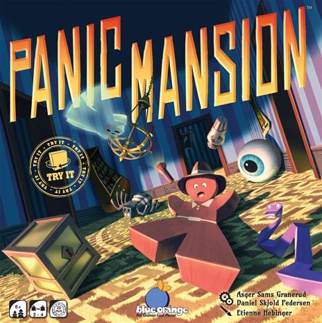Panic Mansion, lautapeli