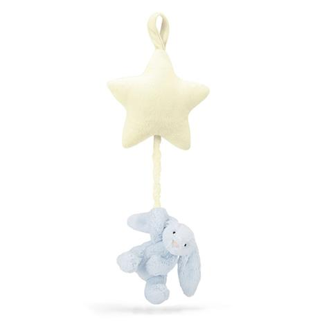 Jellycat, Bashful Bunny Star Musical Blue