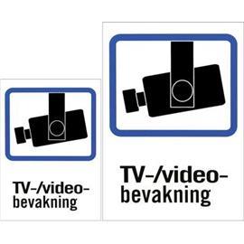 """DELTACO Muovikilpi """"TV/Videobevakning"""", 1xA4 ja 1xA5 pakkauksessa,"""