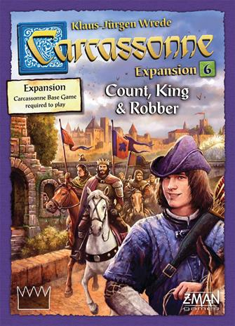 Carcassonne Expansion 6 - Count, King & Robber, lautapeli