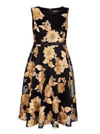 Kukkakuvioinen mekko AMY VERMONT Kulta36203/40X