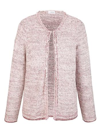 Hapsureunainen jakku MIAMODA meleerattu roosa36425/30X