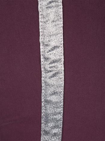 Kimalleraidalliset housut MIAMODA Viininpunainen48846/60X