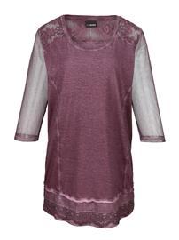 Pitsisomisteinen paita MIAMODA Viininpunainen47531/50X